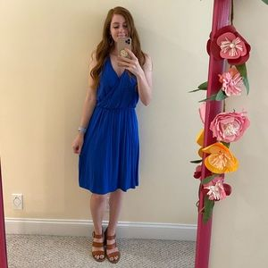 Old Navy blue swing dress
